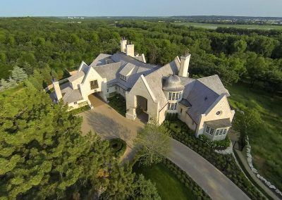 aerial view of MN River Estate