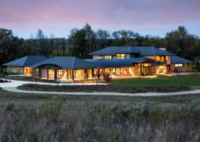 Modern Country Estate built by John Kraemer & Sons