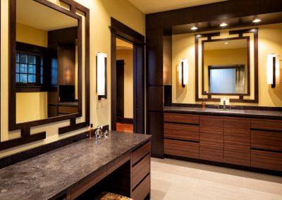 Modern Country Estate master bath