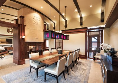 Modern Country Estate dining room