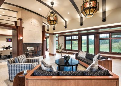 Modern Country Estate living room