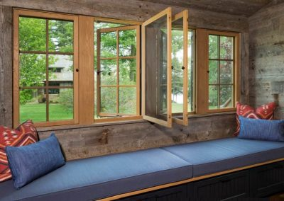 Northern Wisconsin Bunk House by homebuilders John Kraemer and Sons