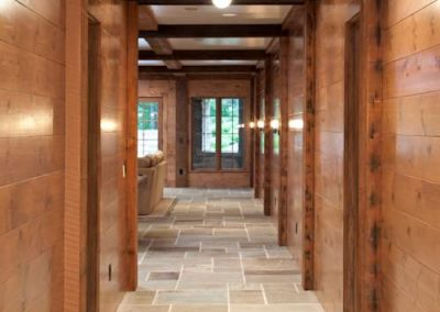 foyer in Northern Wisconsin Cabin