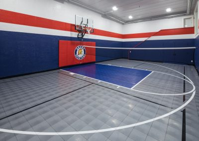 sport court in Orono Deer Hill Preserve