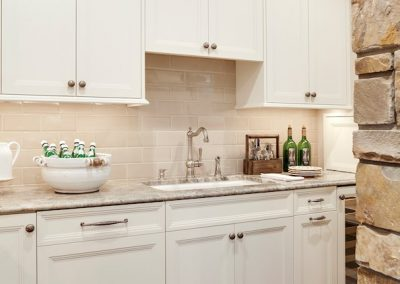 kitchen in Parkwood Knolls Custom home