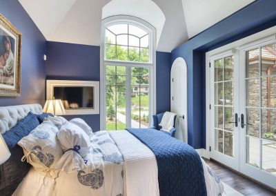 bedroom at Candy Cove home on Prior Lake