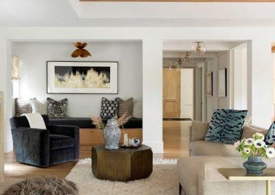 Rolling Green Revival living room renovation