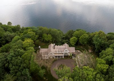 John Kraemer & Sons Coastal Lakeside aerial view