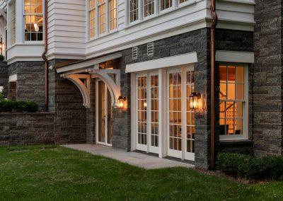 John Kraemer & Sons Coastal Lakeside lower level windows