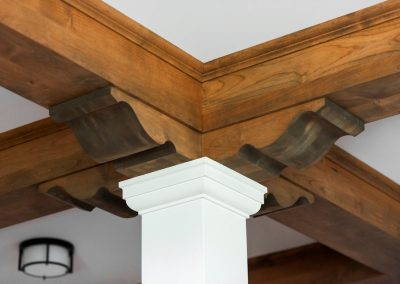 John Kraemer & Sons Coastal Lakeside ceiling detail