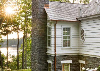 John Kraemer & Sons Coastal Lakeside chimney detail