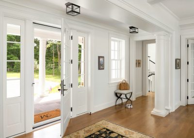 John Kraemer & Sons Coastal Lakeside foyer