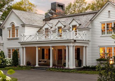 John Kraemer & Sons Coastal Lakeside front porch