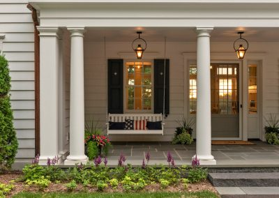John Kraemer & Sons Coastal Lakesidel front porch