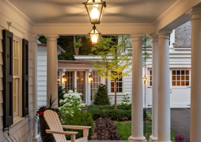 John Kraemer & Sons Coastal Lakeside front porch
