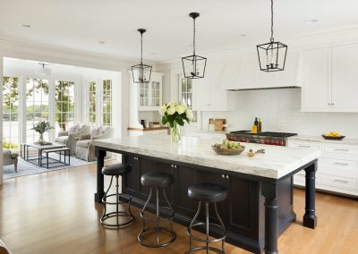 John Kraemer & Sons Coastal Lakeside kitchen