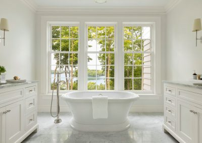 John Kraemer & Sons Coastal Lakeside master bath