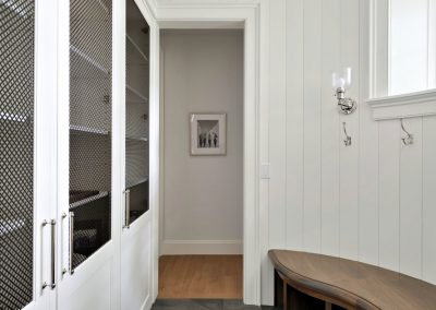 John Kraemer & Sons Coastal Lakeside mudroom