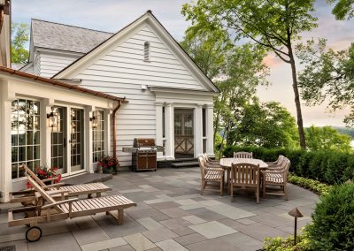John Kraemer & Sons Coastal Lakeside patio