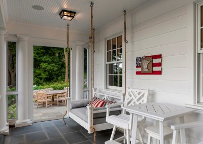 John Kraemer & Sons Coastal Lakeside upper level porch
