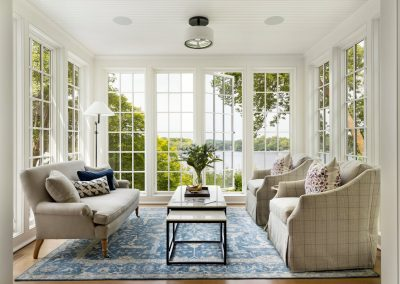 John Kraemer & Sons Coastal Lakeside sunroom