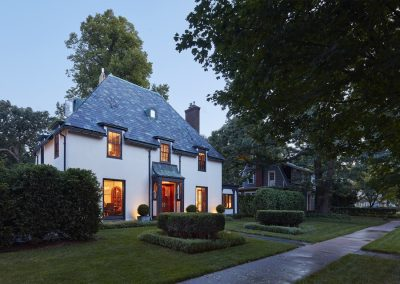 St. Paul Burgundy Tudor Renovation