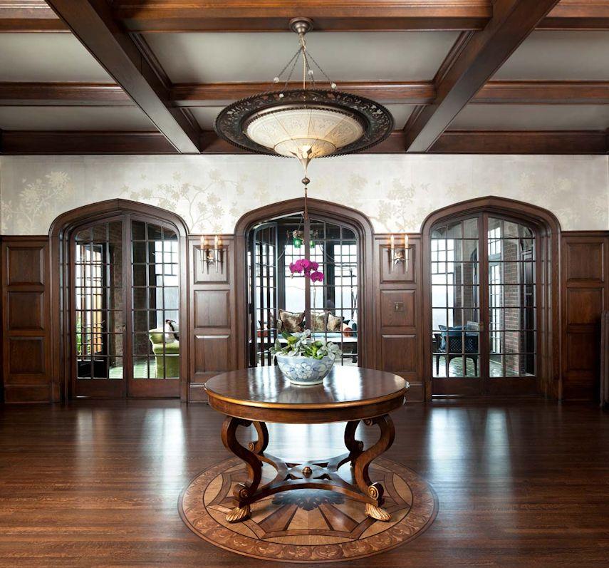 Foyer House St Paul : Historic st paul mansion renovation john kraemer sons