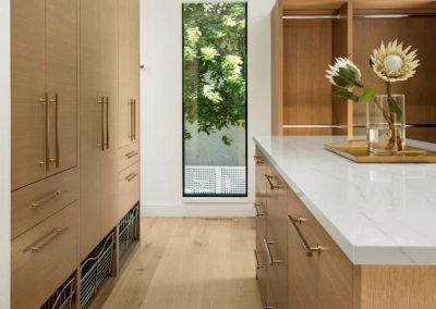 walk-in closet in Tonka Bay Modern home