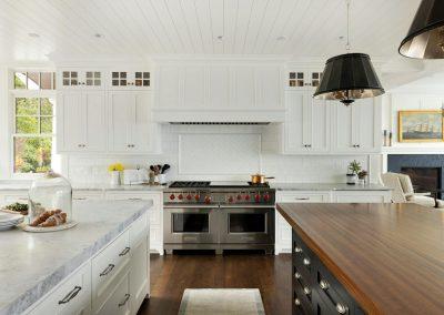 Wayzata Bay Coastal new home construction - kitchen