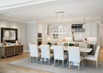 dining room in Wayzata Luxury Condo