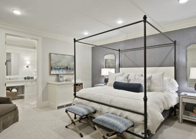 bedroom in Wayzata Luxury Condo