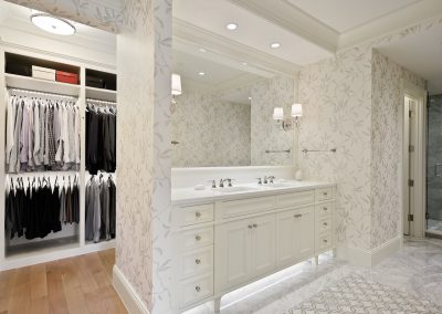 master bath in Wayzata Luxury Condo